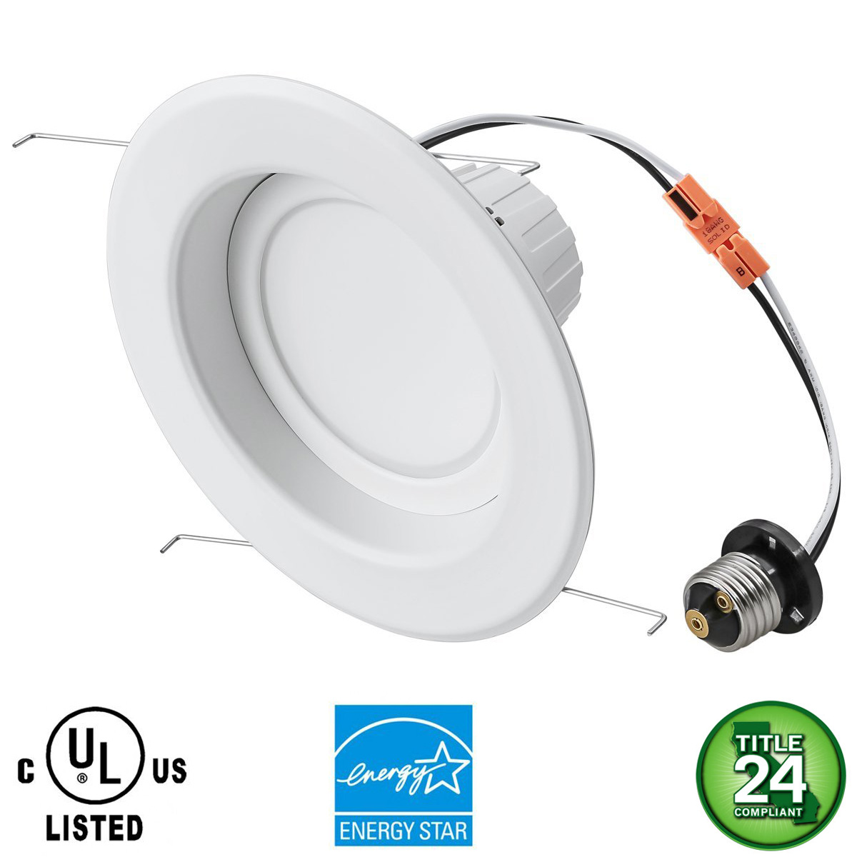 5 6 led recessed downlight retrofit lamp 20w dimmable led recessed downlight 6in 1 aloadofball Images