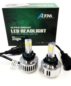 LED Headlight Kit A336 9005 9006 H10 White