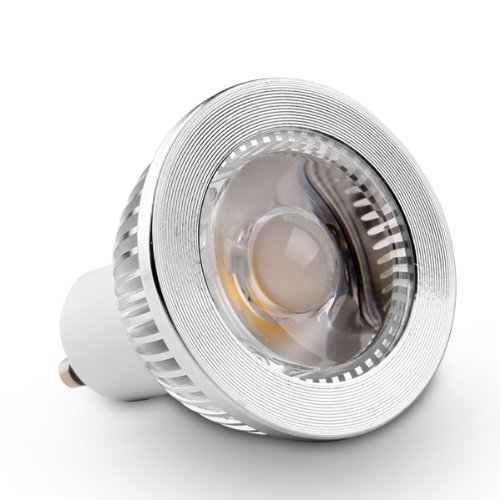 Led Spotlight Light Bulbs: GU10 5W COB LED Spotlight Bulbs 38° Dimmable