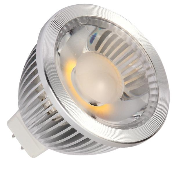 Led Spotlight Light Bulbs: MR16 5W COB LED Spotlight Bulbs 38° Dimmable