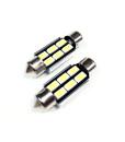 36mm LED Festoon Bulbs 4w Bright 5730 6smd