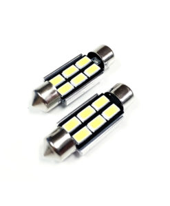 36mm LED Festoon Bulbs 4w Bright 5730 6smd