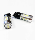 LED Turn Signal Bulbs DRL 3157 5730 20smd Switchback