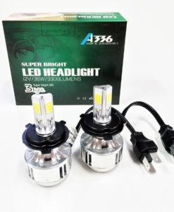 LED Headlight_Kit 36W H4 6000k White Hi/Lo