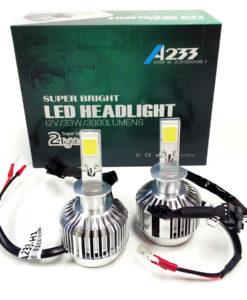 LED Headlight Kit H1 6000K White