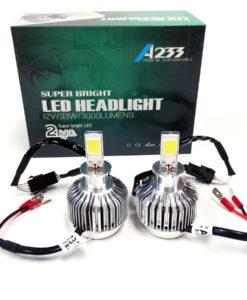 LED Headlight Kit H3 6000K White