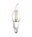C11 LED Bulb Filament candle light 4.5w 2700K Dimmable