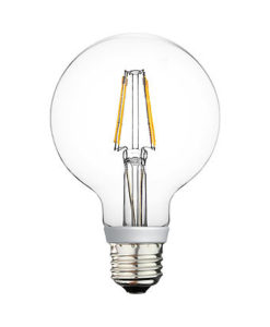G25 LED Bulb Filament candle light 4.5w 2700K Dimmable
